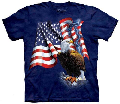 Eagle Shirts American Flag