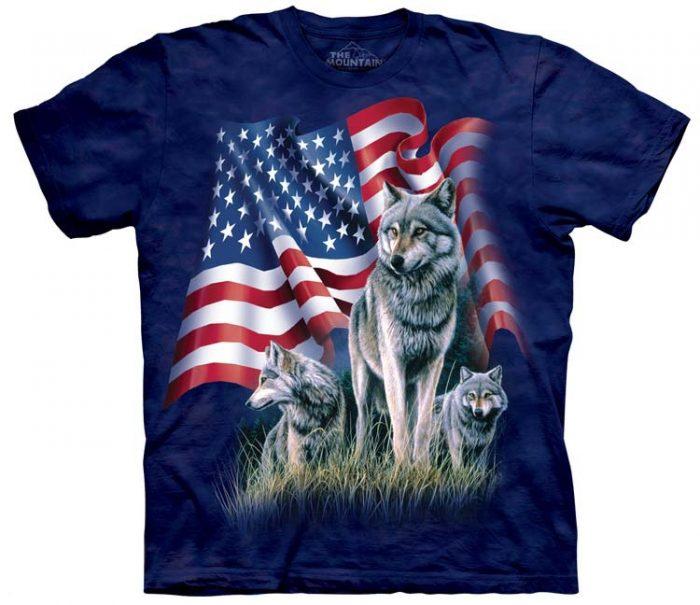 Wolf Shirts Flag