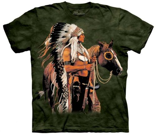 Native American Indian Shirts Painted