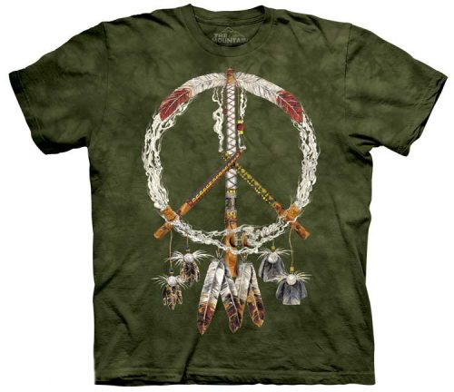 Native American Indian Shirts Peace