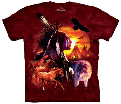 Native American Indian Shirts Collage
