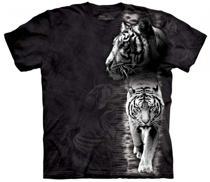 White Tiger Shirts Stripe