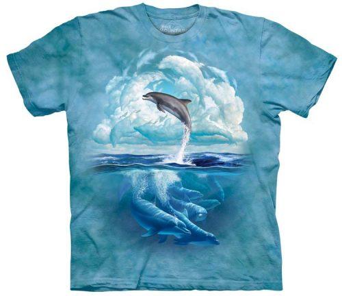 Dolphin Shirts Sky