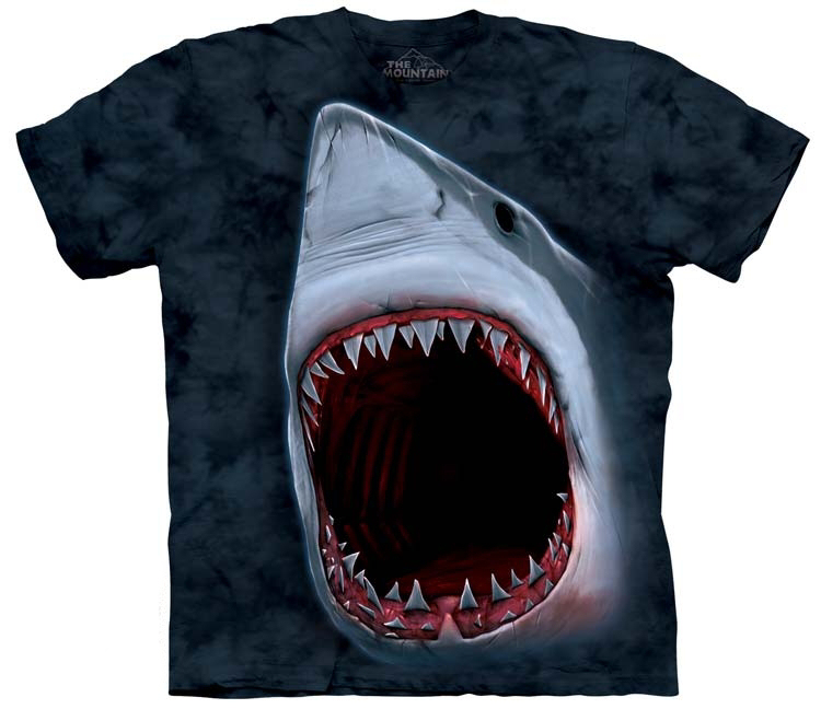 Shark Shirts Bite