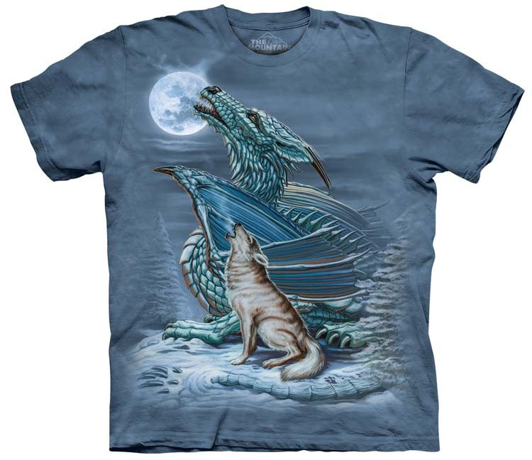 Wolf Shirts Dragon Moon