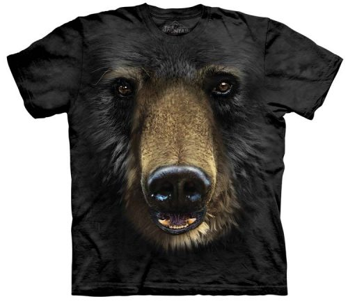 Black Bear Shirts Face