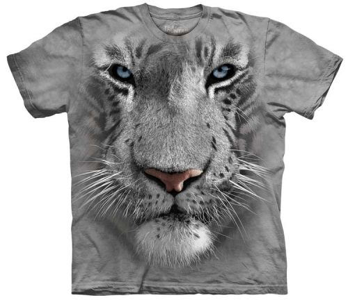 White Tiger Shirts Face