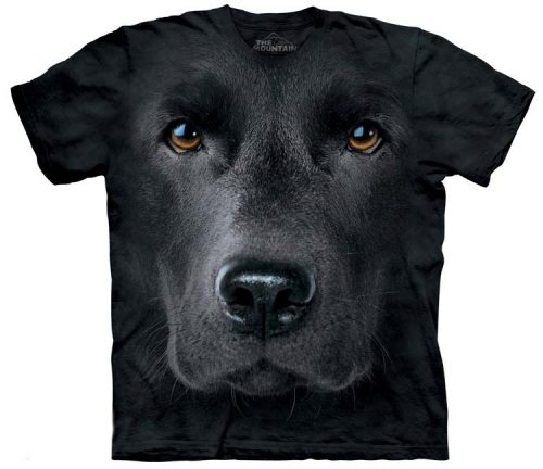 Black Lab Shirts Face