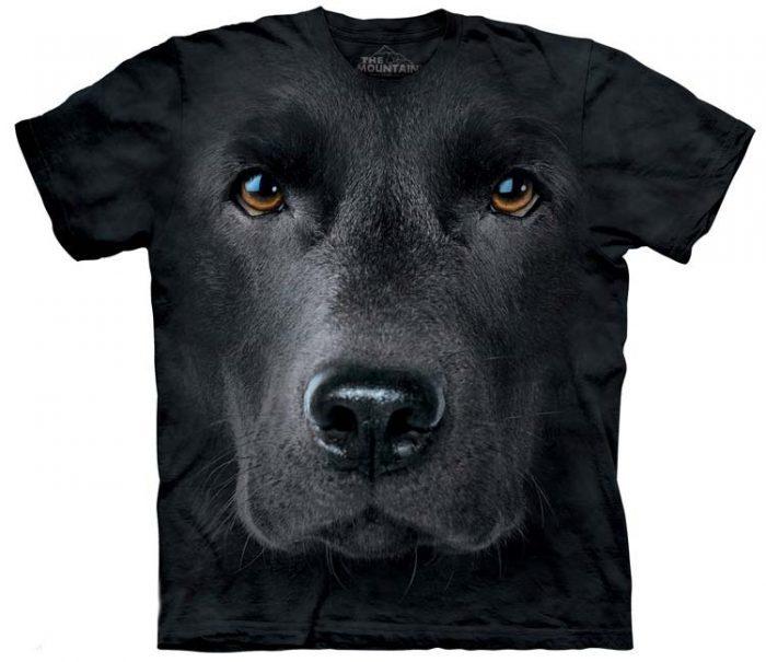 Black Lab Shirts Face