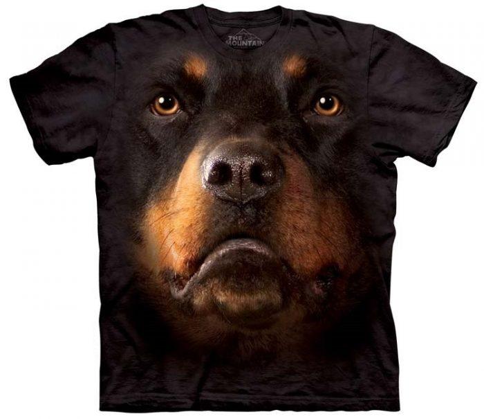Rottweiler Shirts Face