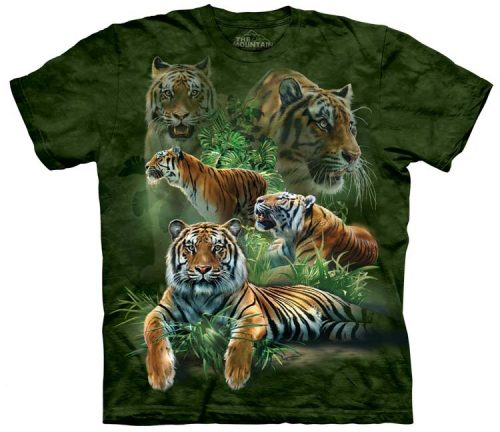 Tiger Shirts Jungle