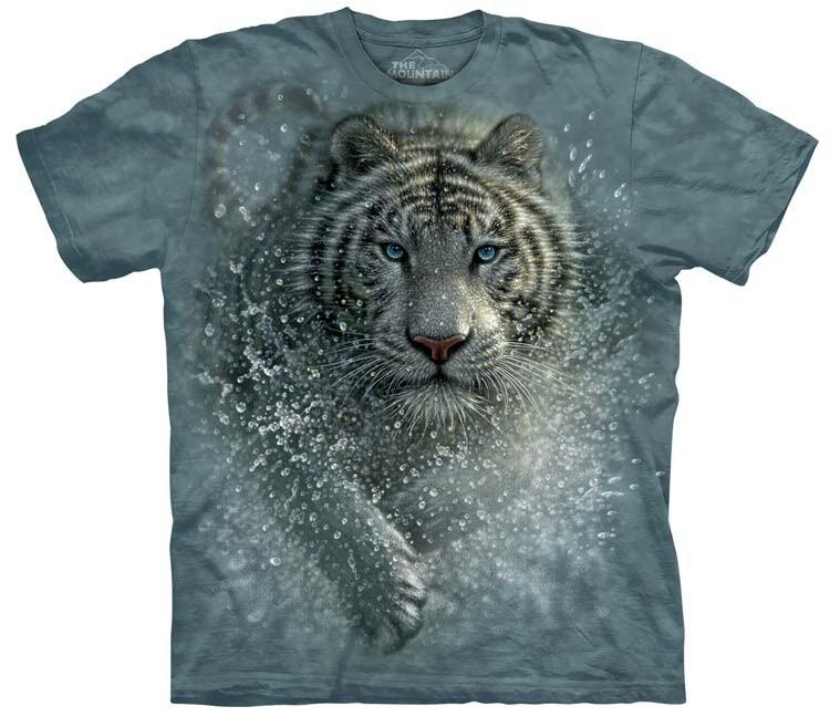 White Tiger Shirts Wet Wild