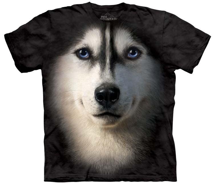 Siberian Husky Shirts Face