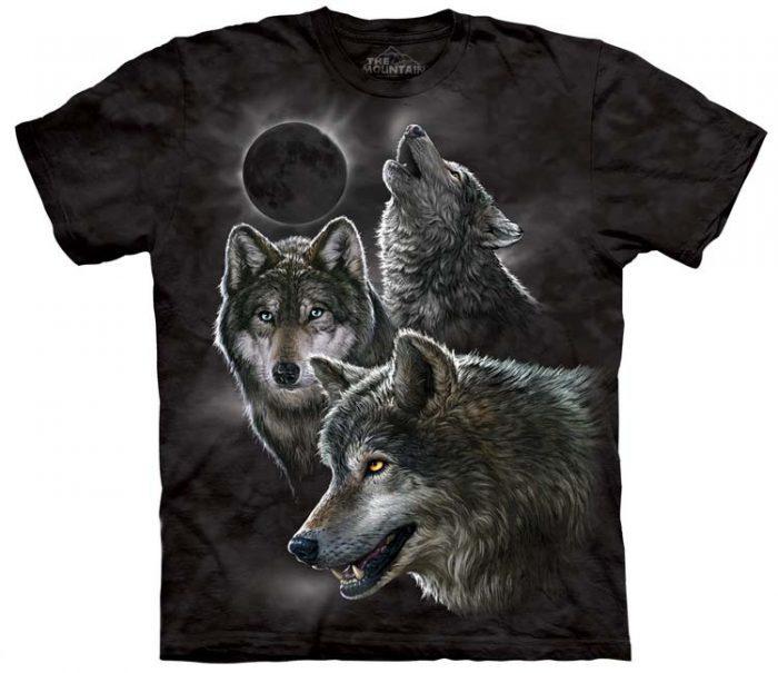 Wolf Shirts Eclipse