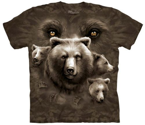 Bear Shirts Eyes