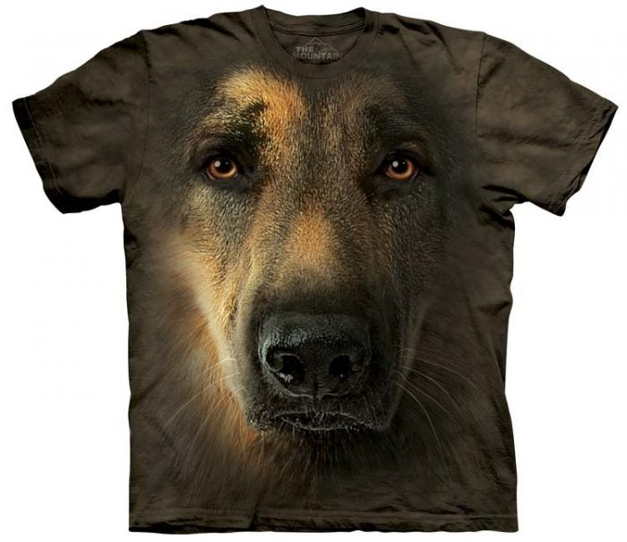German Shepherd Shirts Portrait
