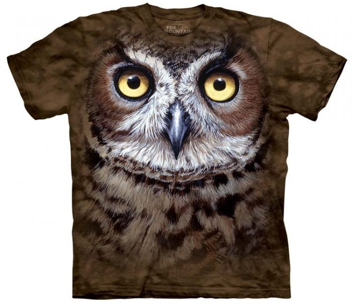 Great Horned Owl Shirts
