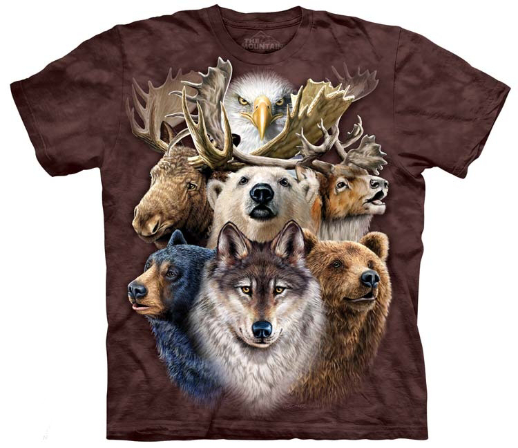 Northern Wildlife Shirts
