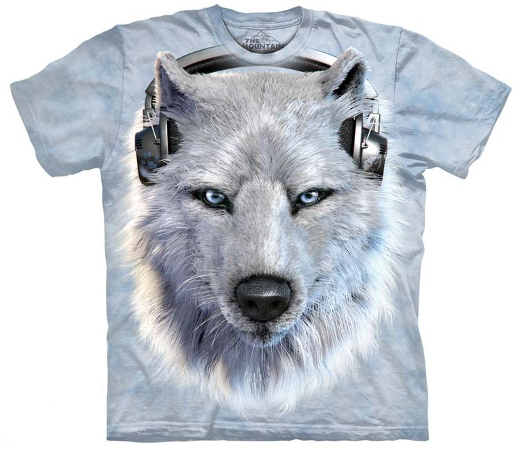 White Wolf DJ Shirts