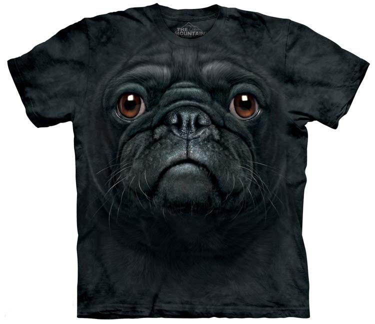Black Pug Shirts