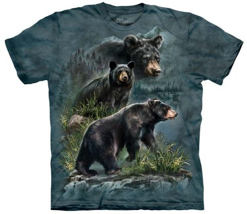 Black Bear Shirts Three