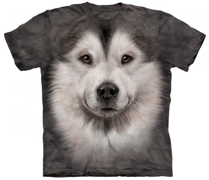 Alaskan Malamute Shirts Face