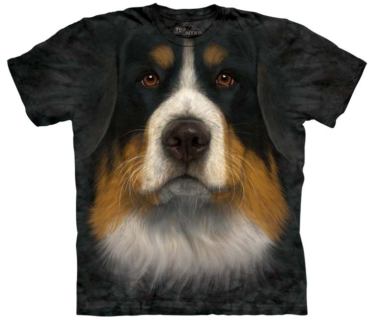 Bernese Mountain Dog Shirts Face