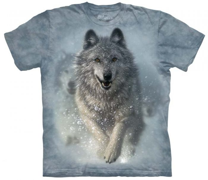 Wolf Shirts Snow Plow