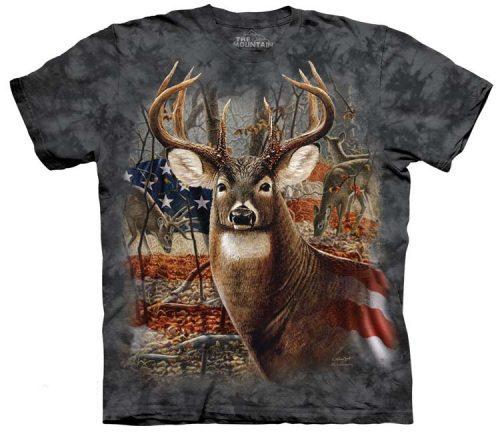 Deer Shirts Patriotic