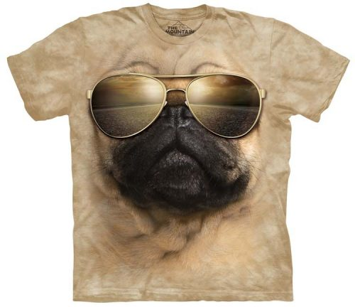 Aviator Pug Shirts