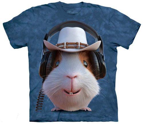 Guinea Pig Cowboy Shirts