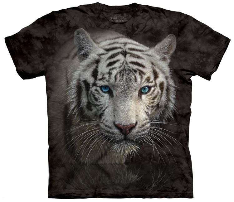 White Tiger Shirts Reflection