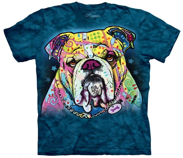Colorful Bulldog Shirts