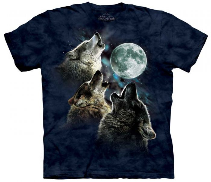 Wolf Shirts Three Wolf Moon