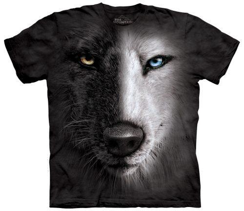 Wolf Shirts Black and White