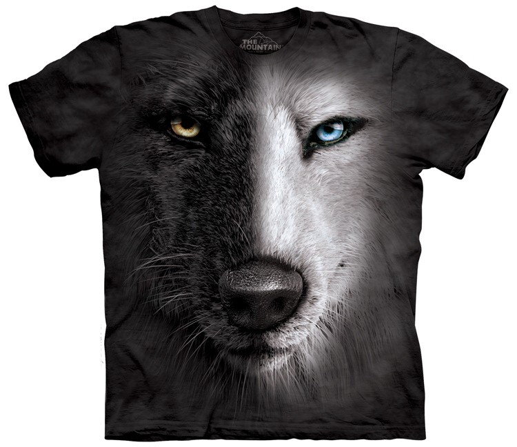 Wolf Shirts Black and White