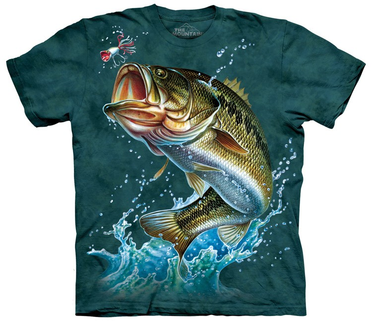 Bass fishing shirts made with environmentally friendly for Bass fishing shirt