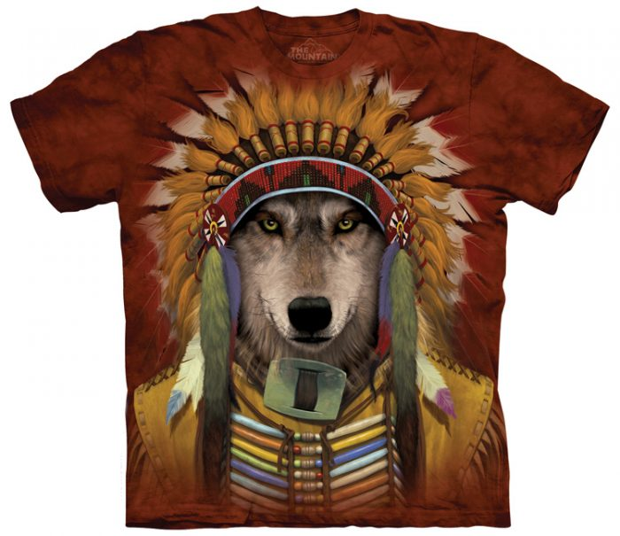 Wolf Spirit Chief Shirts