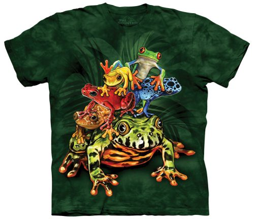 Frog Shirts Pile
