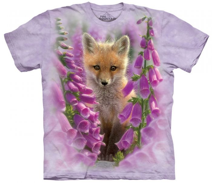 Foxgloves Fox Shirt
