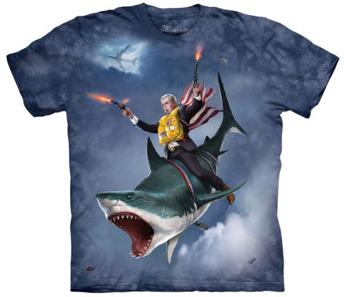 George Dubya Bush Shark Shirt