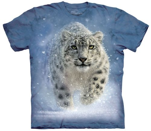 Snow Ghost Leopard Shirt
