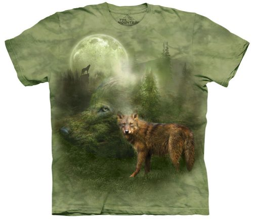 Forest Spirit Wolf Shirt