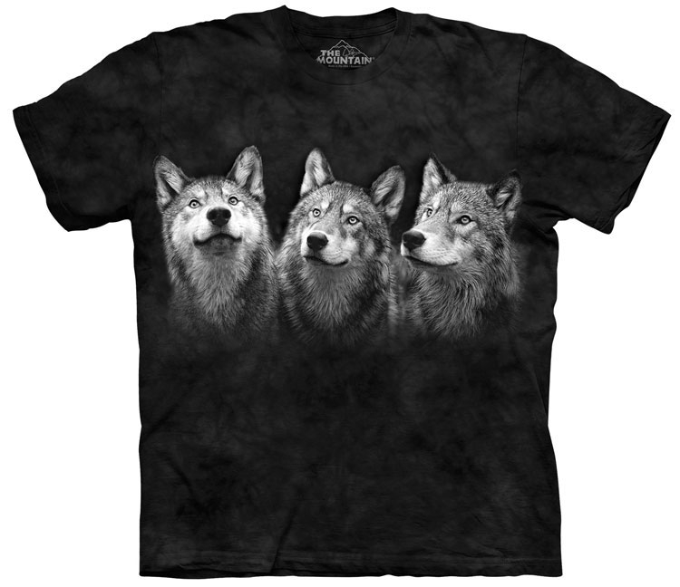 Triad Wolf Shirt
