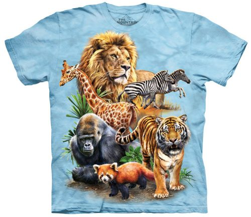 Zoo Collage Shirt
