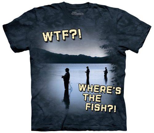 Freshwater Fishing WTF Shirt