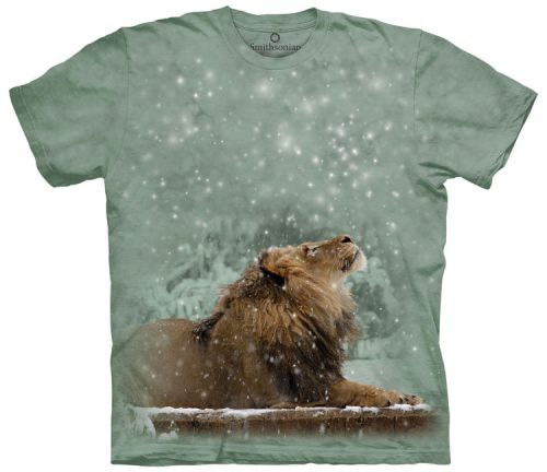 Snowfall Lion Shirt