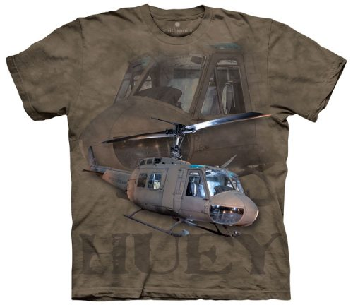 US Army Huey Helicopter Shirt