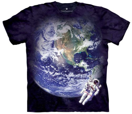 Astronaut Earth Shirt