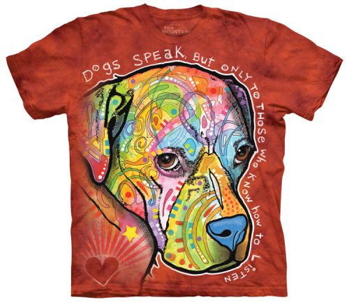 Dogs Speak Shirt